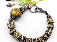 youtube Ludmila Bakulina Carved Polymer Clay Beads